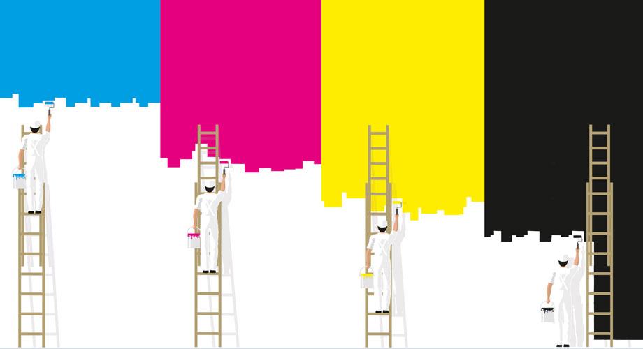hochwertig|kompetent|farbkontrast